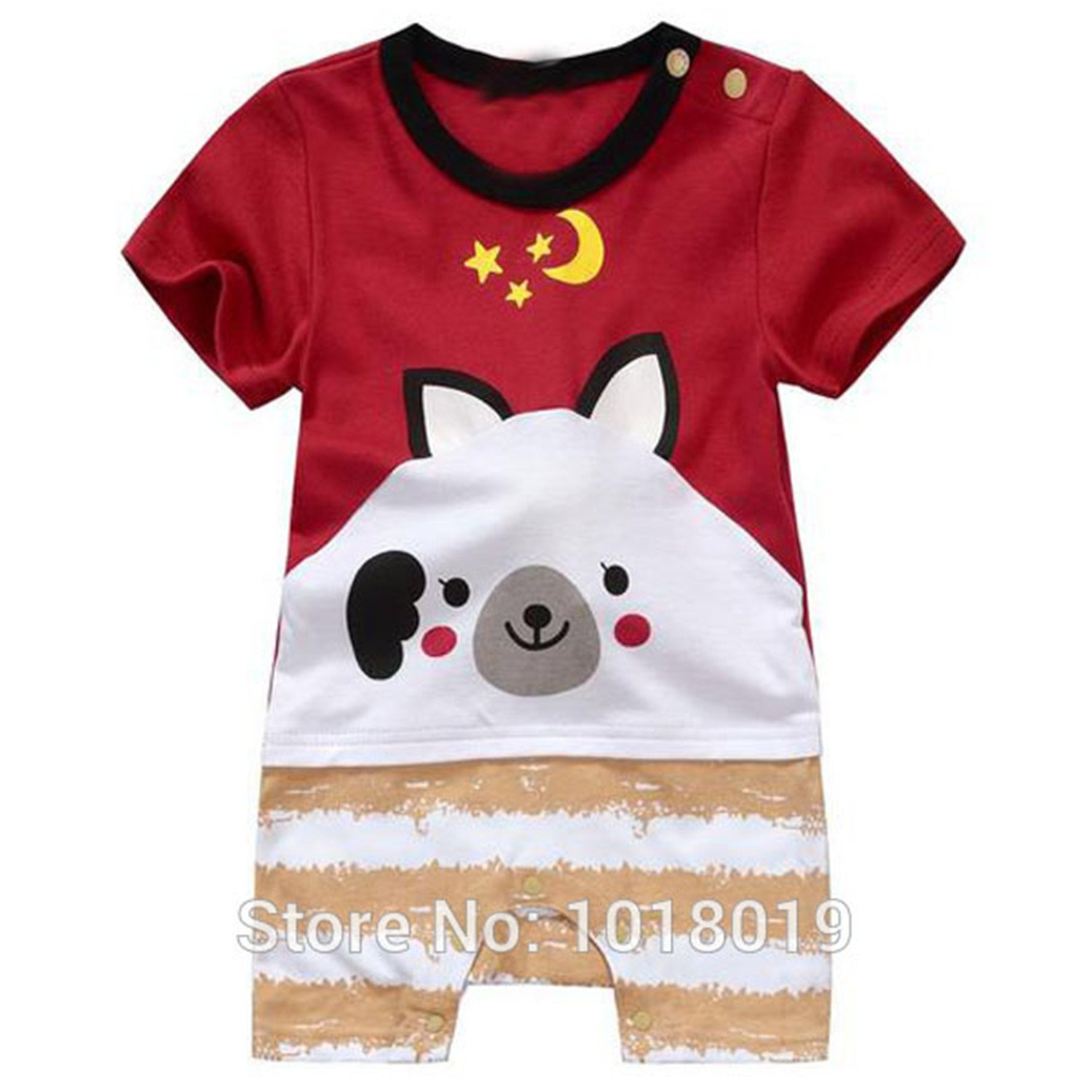 a7f28ac8e41a elephanted Cut Brand 100% Cotton Cartoon Ropa Bebe Baby Boy Baby ...