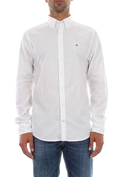 Tommy Hilfiger Camisa Austin Blanco XXL Blanco: Amazon.es: Ropa y accesorios