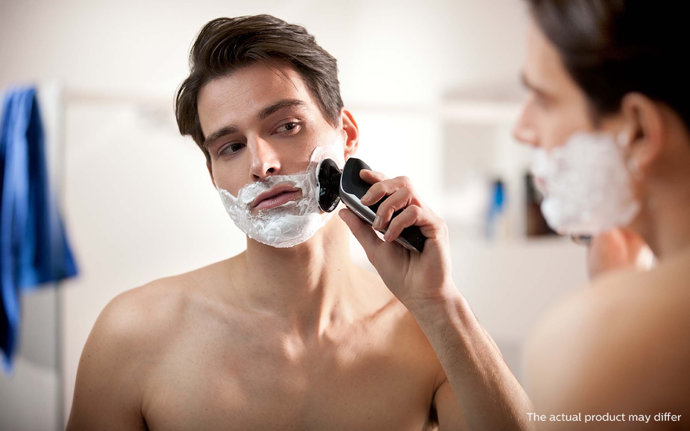 Philips Norelco Electric Shaver 9700, Cleansing Brush by Philips Norelco (Image #6)
