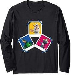 Booba & Friends Portraits Long Sleeve T-Shirt