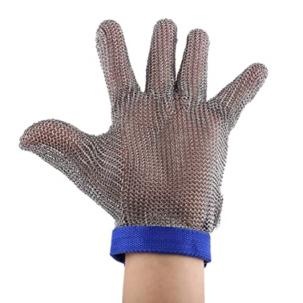 Back To Search Resultssecurity & Protection Active Anti-cut Gloves Safety Cut Proof Stab Resistant Stainless Steel Wire Metal Mesh Kitchen Butcher Cut-resistant Safety Gloves