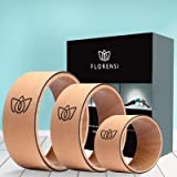 Florensi Yoga Wheel (3-Pack), Back Roller for Muscle Relaxation, Stretching Back Wheel for Pain Relief, Back Pain, Massages,