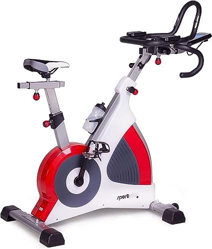 SportPlus Speedracer, Bicicleta Estática con Freno de Corrientes Inducidas de hasta 500 Vatios, Peso hasta 150 kg, Clase S.A. Calidad de Estudio: Amazon.es: Deportes y aire libre