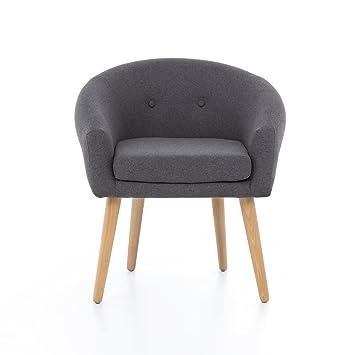 Myhomery Milo Lounge Sessel Gepolstert Polsterstuhl Fur Esszimmer