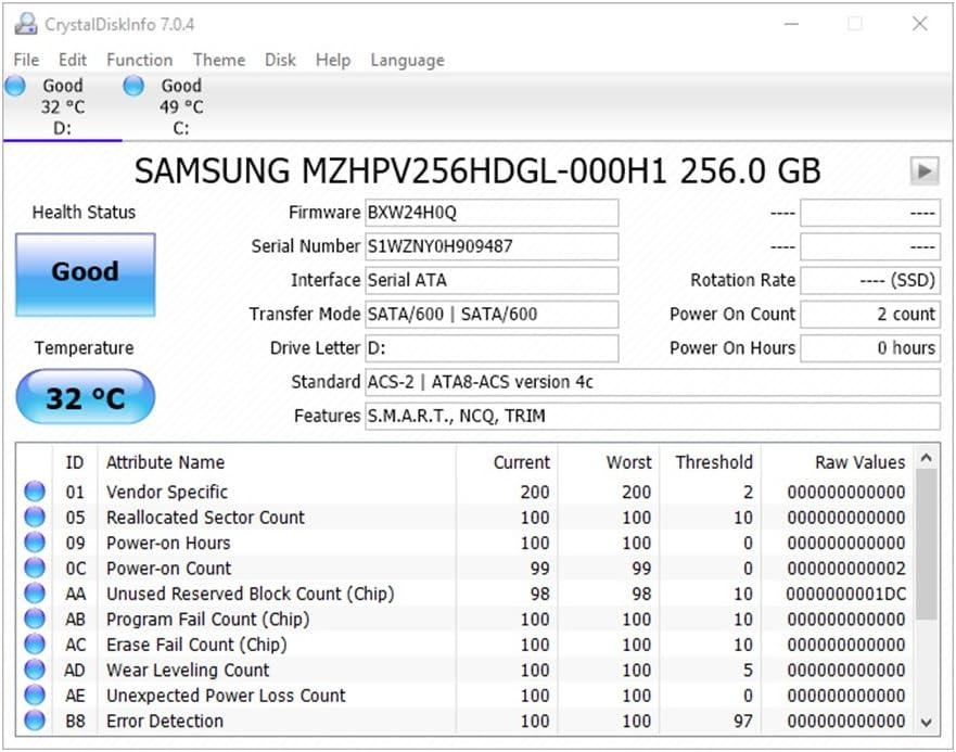 Samsung SM951 - Disco Duro sólido - 256 GB: Amazon.es: Informática