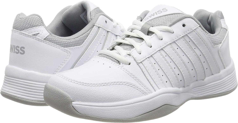 K-Swiss Performance Court Smash Carpet WHT//High-Rise-m Chaussures de Tennis Femme