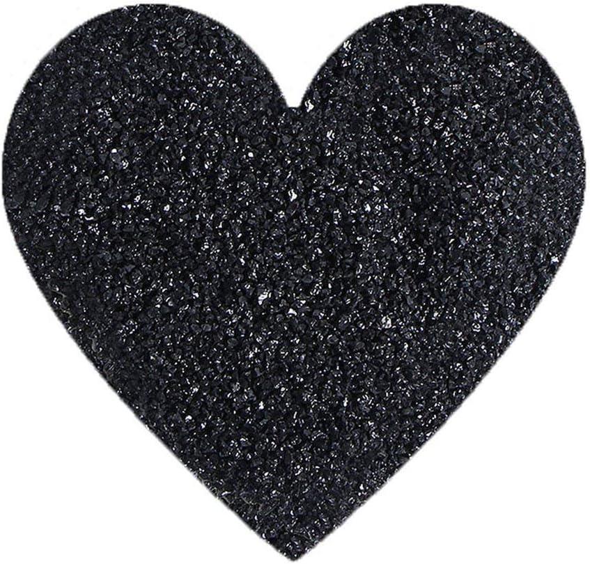 MachinYesell Tourmaline noire naturelle Pierre Rock Mineral Pierres et min/éraux naturels Particules de tourmaline noire naturelle Granul/és bruts bruts couleur: noir 50g