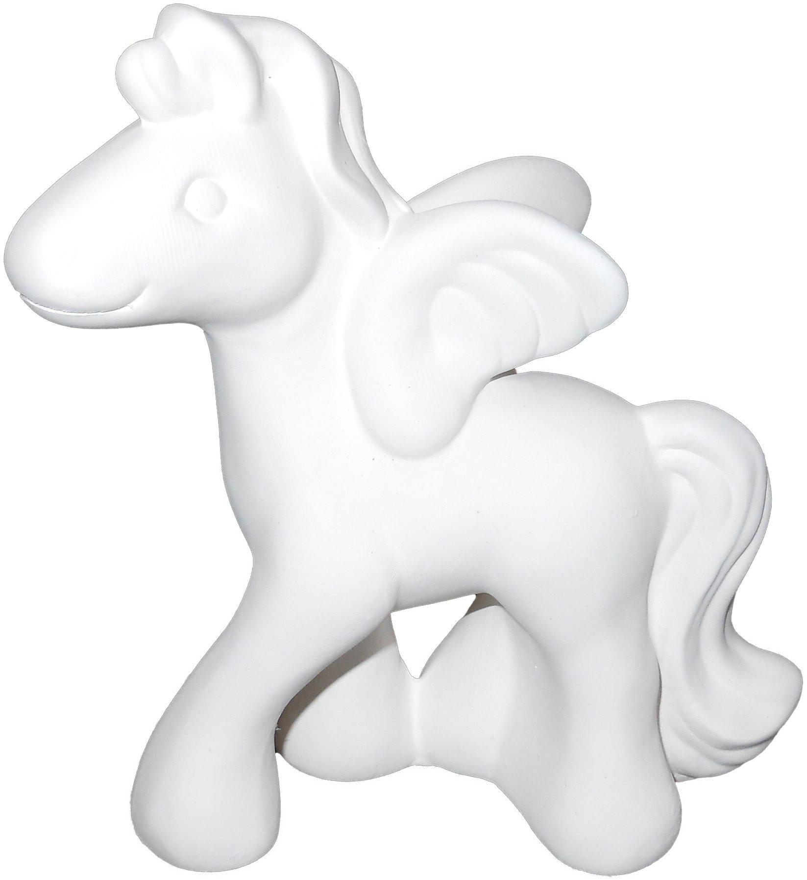 The Lovable Pegasus - Paint Your Own Mystical Ceramic Keepsake