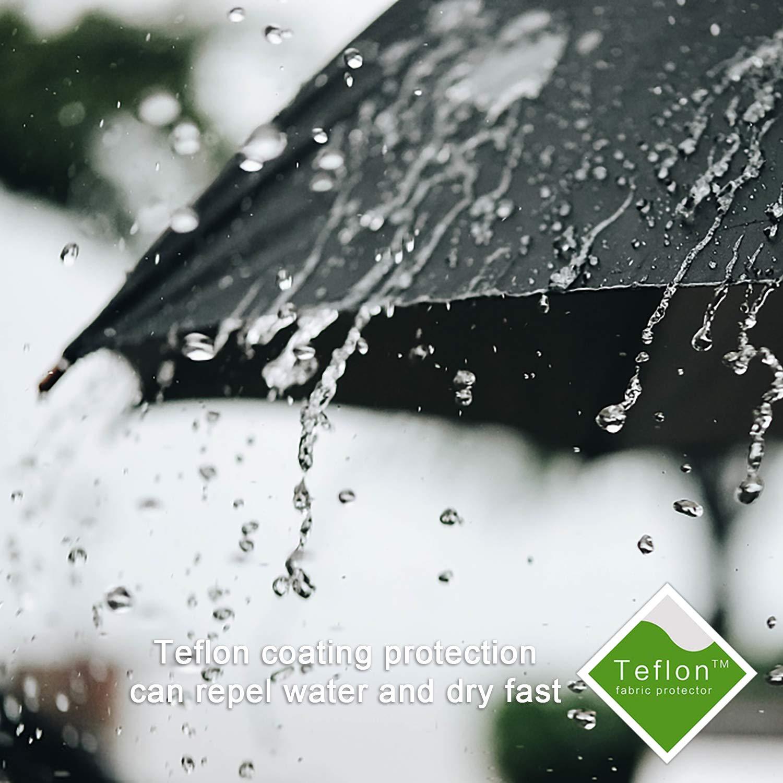 9e60ceb47af1 Marriarics Folding Umbrella Windproof, Black Glue Anti UV Coating, Compact  Travel Umbrella for women men, Auto Open Close
