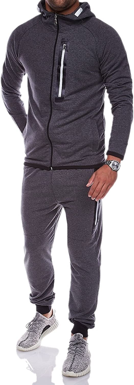 MT Styles Trainingsanzug mit Zipper Sportanzug R-5038