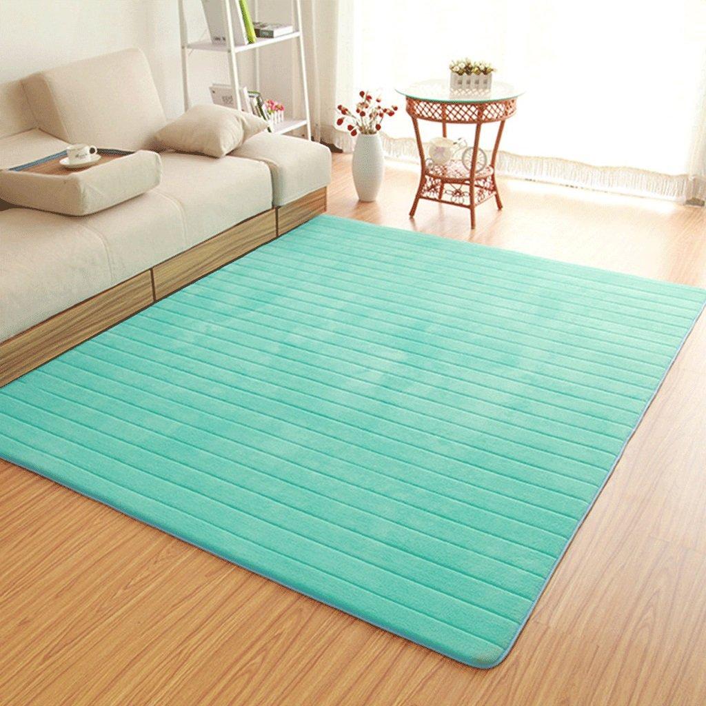 厚め洗濯可能なカーペット子供のクロールマットベッドルームのベッドサイドのマルチサイズカーペット (サイズ さいず : 160x200cm(63x79インチ)) 160x200cm(63x79インチ)  B07FNYKCLV