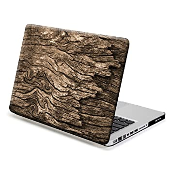 GMYLE Funda para MacBook Pro 13 Pulgadas, Wooden Pattern (No ...