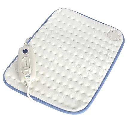 Almohadilla térmica electrónica lavable Yatek de 40 x 30 cms y 100w de potencia sin cubierta