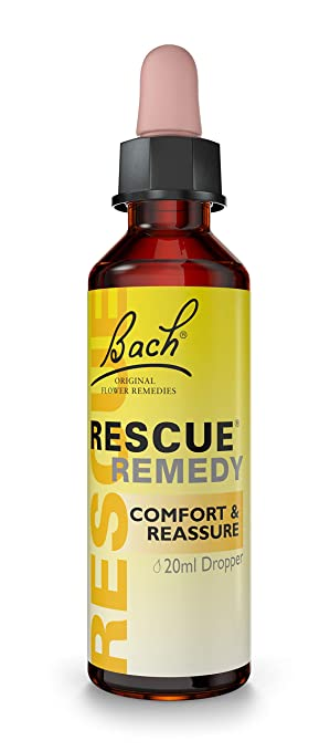 Amazon Com Bach Rescue Remedy Dropper 20 Ml Health Personal Care