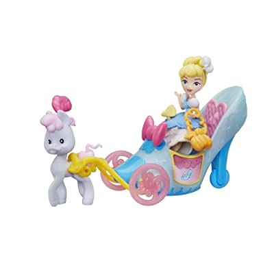 Disney Princess Little Kingdom Royal Slipper Carriage: Toys & Games