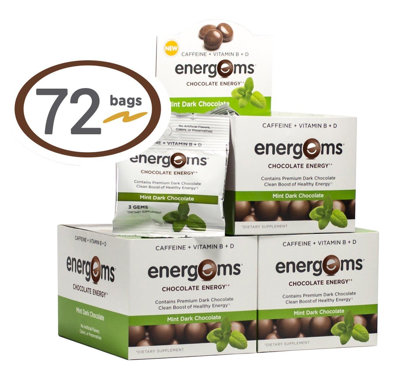 Amazon.com: Energems Energy Boost Gems, 1 Box w/24 bags (72 Gems ...