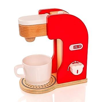 Viga - 50234 - Cafetera de juguete - Madera: Amazon.es: Juguetes y juegos
