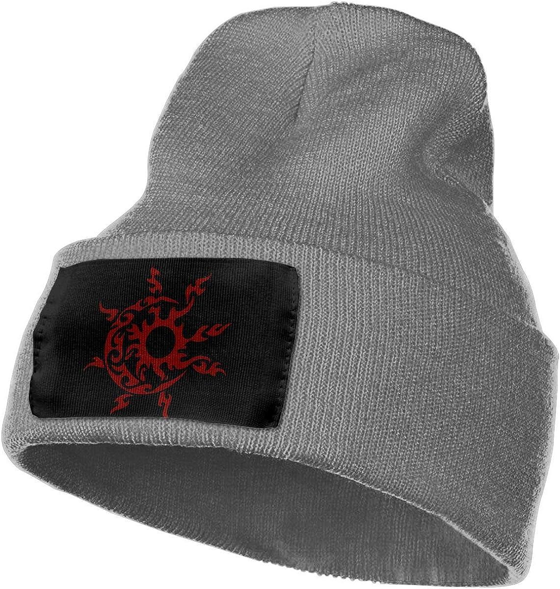 Tribal Star Sun Moon Warm Slouchy Beanie Hat Knitted Beanie Skully for Men Women