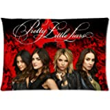 Pretty Little Liars Custom Zippered Pillow Case 20x30 (two sides) from Surprise you