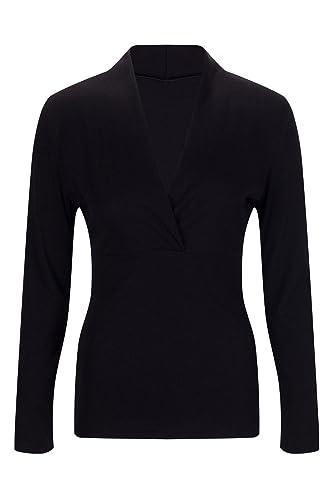 Beauty7 Camisa Mujere Atada a la Cintura Apretado V Cuello Mangas Larga Vestido Verano Blusas T-Shir...