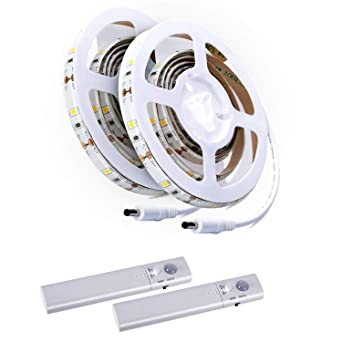 Kit de Tiras de Luces LED, ALED LIGHT 2 Pack Tira de Luz del Sensor
