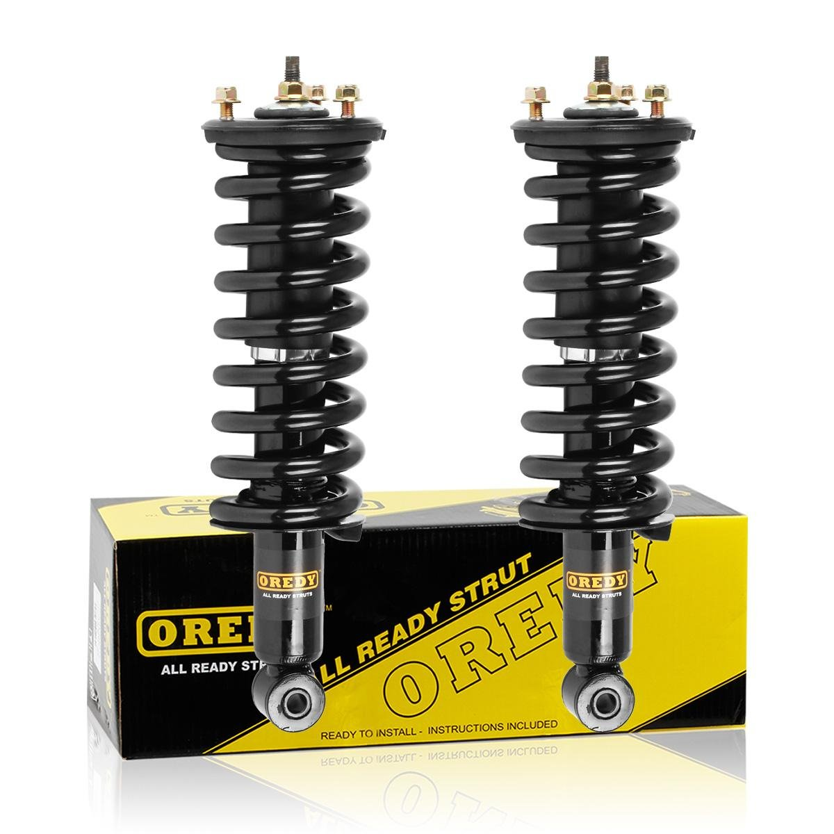 Amazon.com: Front Pair Complete Quick Struts Shock Coil Spring Assembly Kit  171103 9214-0125 Compatible with 2005 2006 2007 2008 2009 2010 2011 2012  Nissan ...