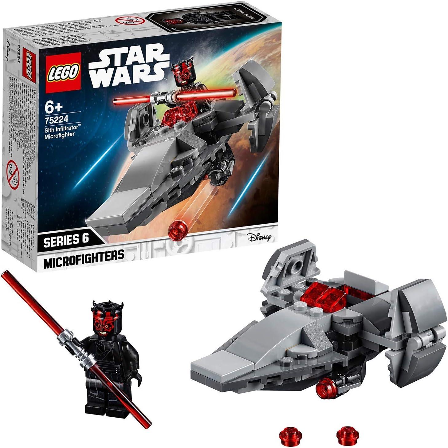 LEGO Star Wars - Microfighter: Infiltrador Sith, juguete divertido ...