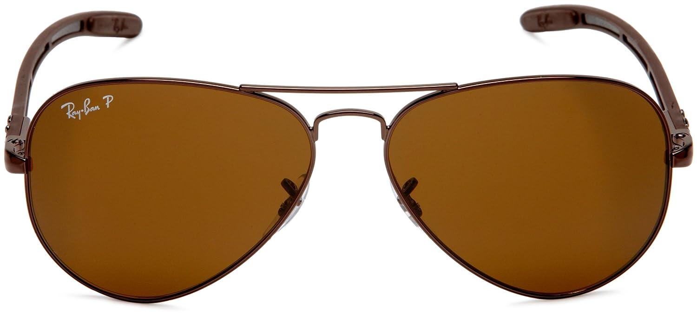 Ray-Ban 0RB8307 Gafas de sol, Brown, 57 para Hombre: Amazon ...