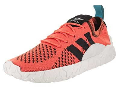 detailed pictures bccbb 7a9a2 adidas Mens F22 Primeknit Originals Running Shoe 7.5 Orange