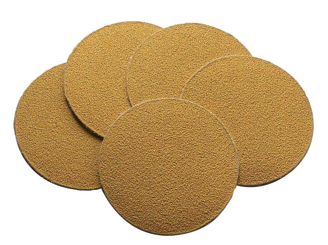 Shark 1306 3-Inch PSA Sanding Gold Disc, 25-Pack, 100-Grit