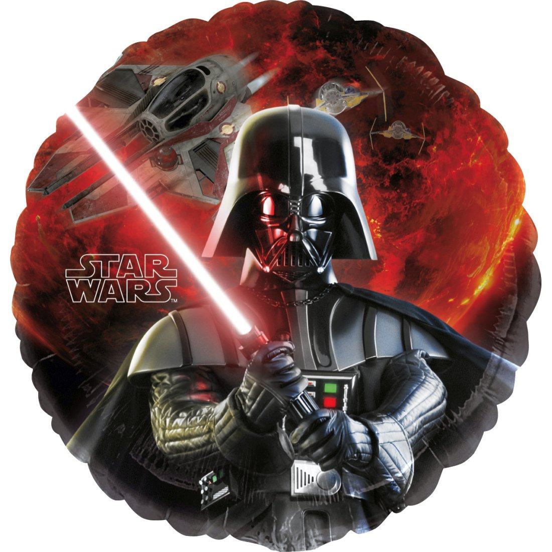 NET TOYS Globo de Helio Star Wars - 43 cm | Globo de Folio Darth ...