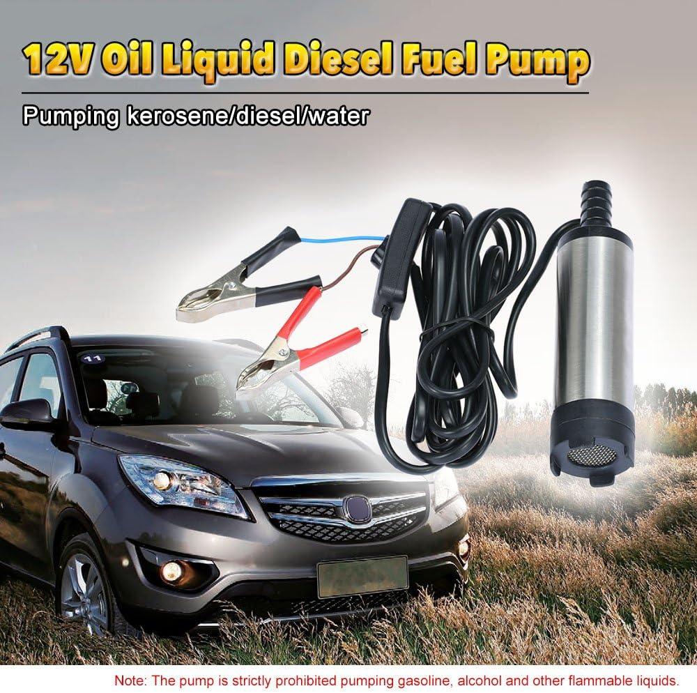 Kkmoon Öl Flüssige Diesel Kraftstoff Wasser Pumpe 12v Transfer Pumpe Wasser Öl Fluid Tanken Auto