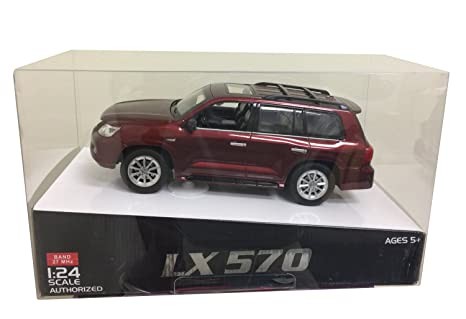 Buy 1 24 Scale Red Lexus Lx 570 Official Licensed Remote Control