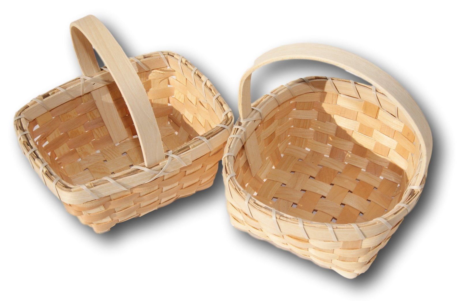 Small Woodchip Country Basket - Set of 6 Styles by Berrygood (Image #3)