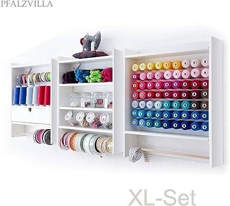 Pfalzvilla XL - Mueble de Tres Módulos para Máquina de Coser y ...
