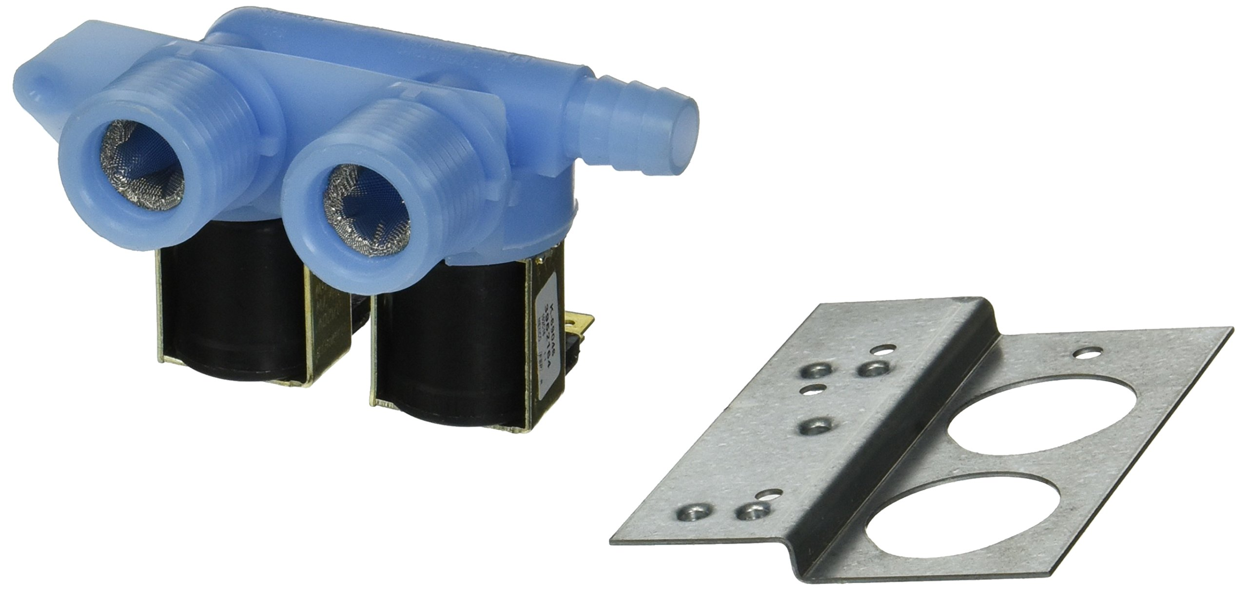 285805 Water Valve - 120 VAC Washer Inlet Valve Kit - Will work with Whirlpool, Maytag, Alliance, Electrolux, GE, Kenmore, Amana, Admiral, Frigidaire by Maytag (Image #1)