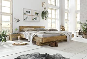Gut Woodkings Bett 180x200 Mayfield Doppelbett Recycelte Pinie Schlafzimmer  Massivholz Design Doppelbett Massive Naturmöbel Echtholzmöbel Günstig