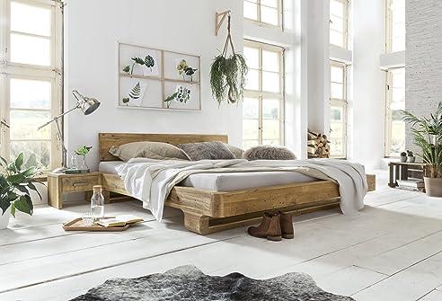 Woodkings® Bett 180x200 Mayfield Doppelbett recycelte Pinie ...