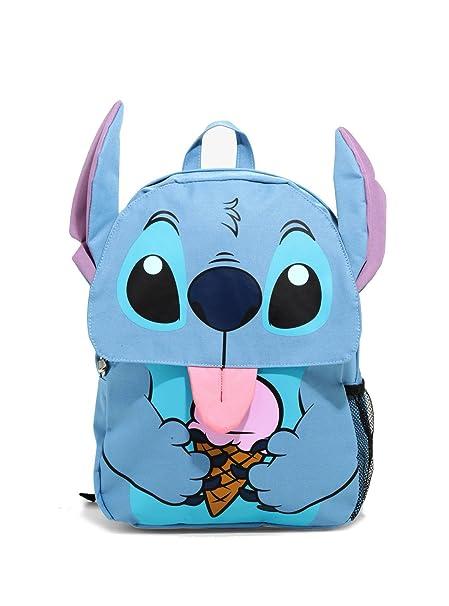 6e04345d390 Loungefly Disney Lilo   Stitch Ice Cream Flap Backpack  Amazon.ca  Luggage    Bags