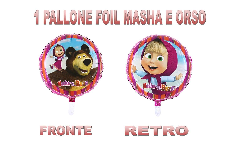 PARTY STORE WEB by casa dolce casa Masha y Oso Balón Foil Aire o ...