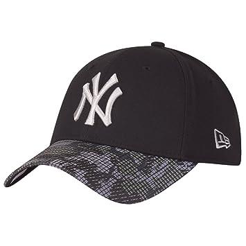 new concept 4cf61 a575a New Era Cap – 39Thirty Mlb Reflective Camo New York Yankees black silver  size