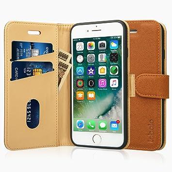 275b6da056 Labato iphone8 ケース iphone7 ケース 手帳型 アイフォン7 アイフォン8 ケース 軽量 手帳 人気 PU