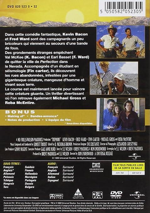 Tremors [Francia] [DVD]: Amazon.es: Kevin Bacon, Fred Ward ...