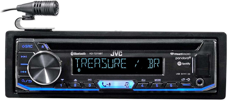 JVC KD-TD70BT CD Receiver