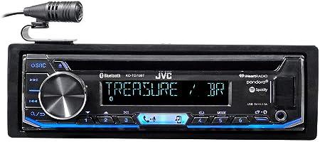 Amazon.com: JVC KD-TD70BT CD Receiver Featuring Bluetooth/USB /  Pandora/iHeartRadio / Spotify/FLAC / 13-Band EQ: ElectronicsAmazon.com