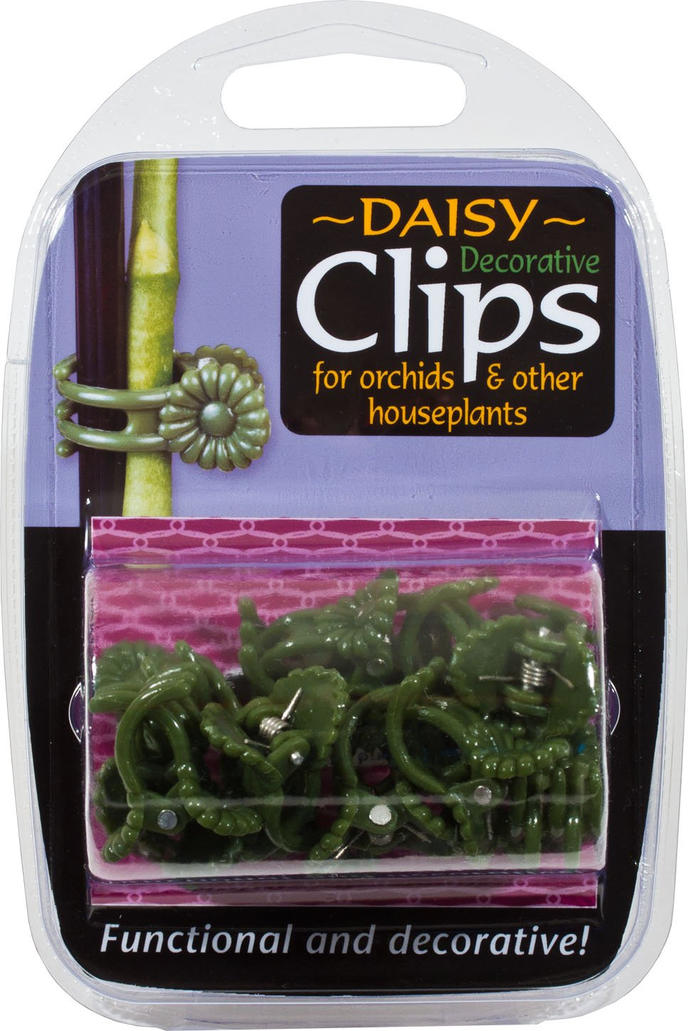 Growth Technology SUPCDA12 Plastic Decorative Daisy Plant Clips (Pack of 12) Growth Technology Ltd