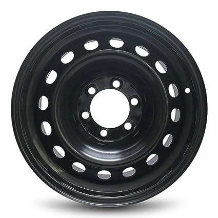 Toyota FJ Cruiser nueva negro borde de acero poste de 17 pulgadas, 6 Tamaño Completo