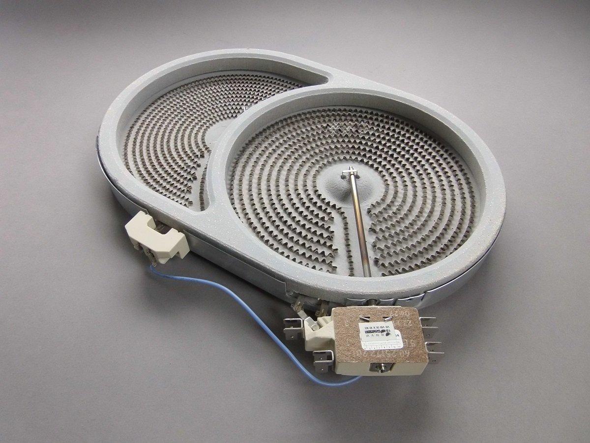Calefactor de Hornilla Placa Cocina Vitrocerámica Dual 170 ...