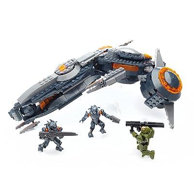 Mega Bloks Halo Phaeton Gunship: Toys & Games