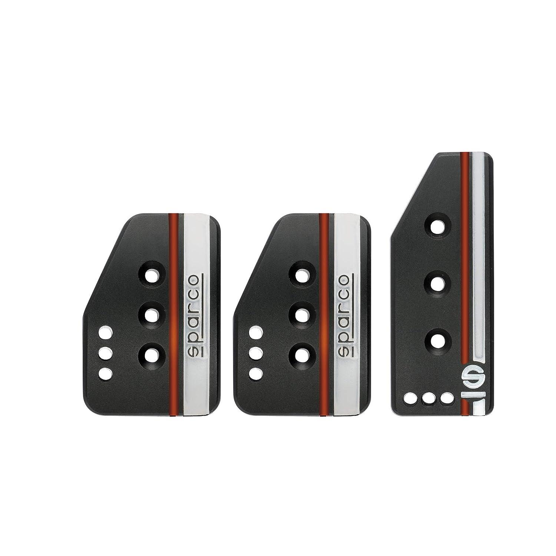 Sparco 037879OP01 3PCS Black Pedal SETTANTA Normal